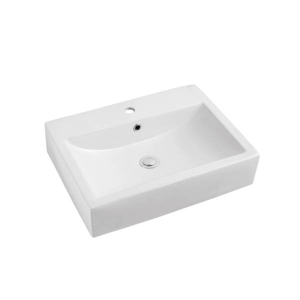 Rectangular Above Counter Lavatory Basin (No. TA-06)