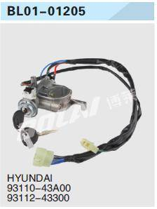 USE FOR   HYUNDAI KEY SET/IGNITION SWITCH 81900-2DA20/81900-38A20/93110-43A00/93112-43300/93110-4300