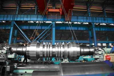Turbine rotor noun engin