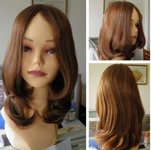wholesale 100% Brazilian virgin human hair Kosher wig/Jewish wig