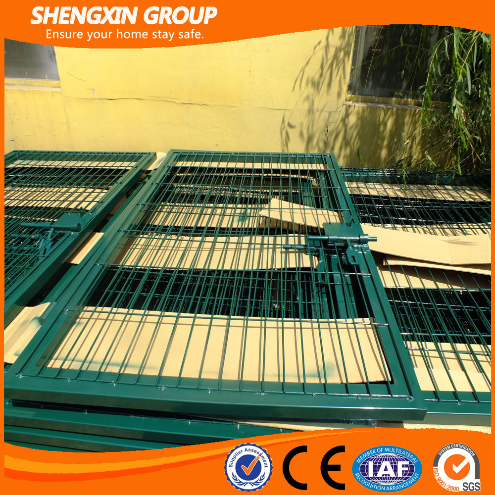 Powder Coated And Galvanized Wire Mesh Fence Gate