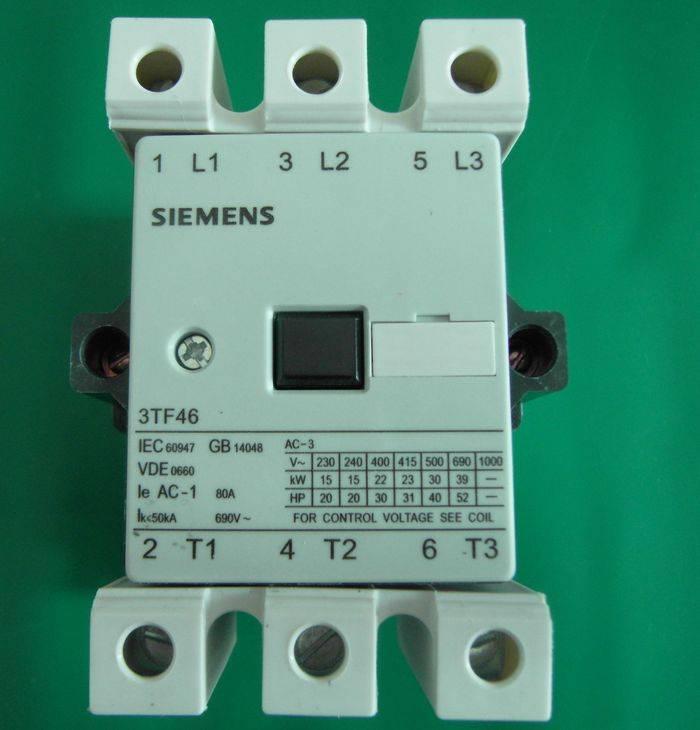 Siemens contactors
