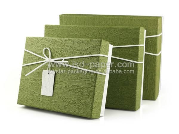 GB-L003 Custom pattern printed cardboard gift box