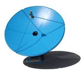 TDT C-band dish communication antenna 1.8m satellite TV receiving antenna