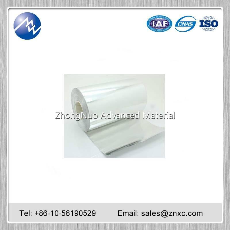 Aluminum Al Foil 99.999%