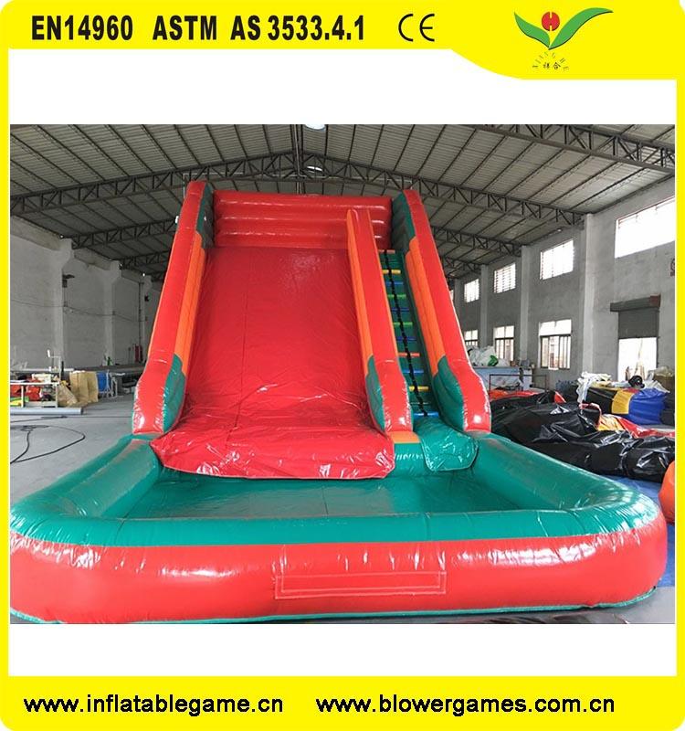 Cheap kids amusement part classic combo inflatable slides