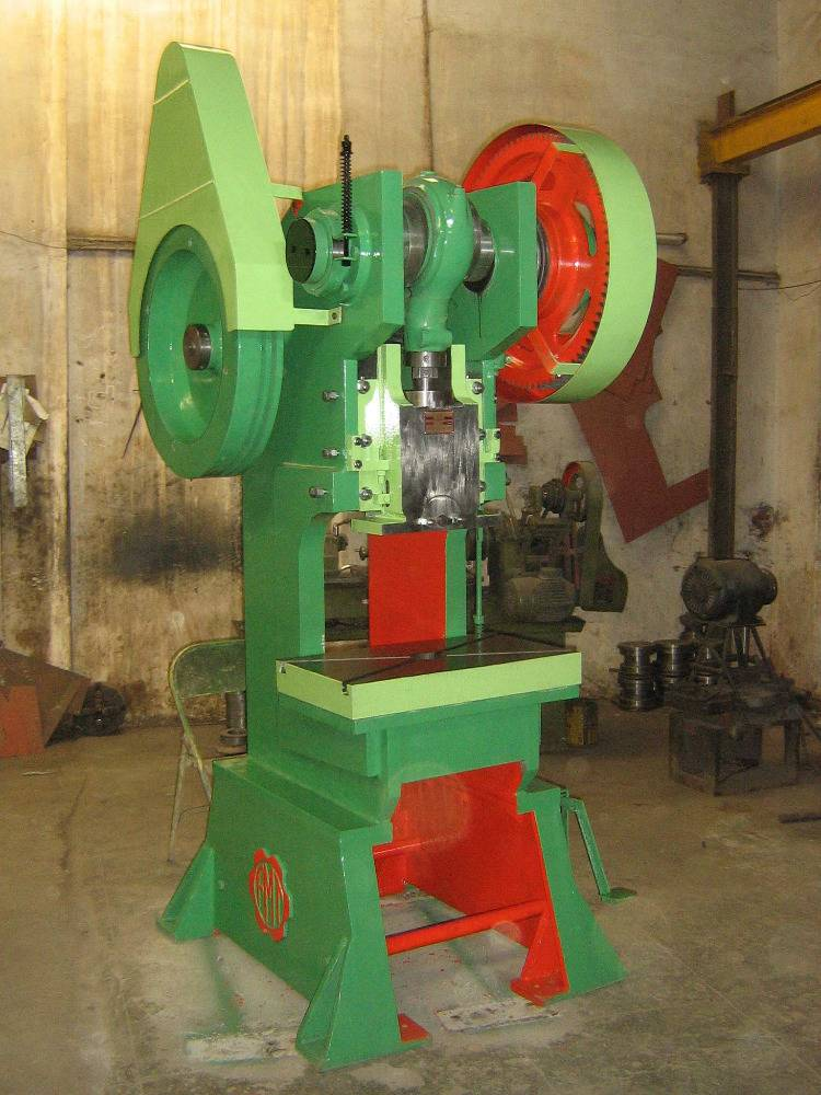 50 Ton C Type Double Geared Power Press