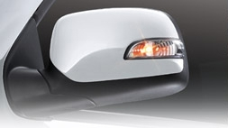 DOOR MIRROR COVER WITH LED -- Isuzu D-Max , Rodeo (Clip Lock System)