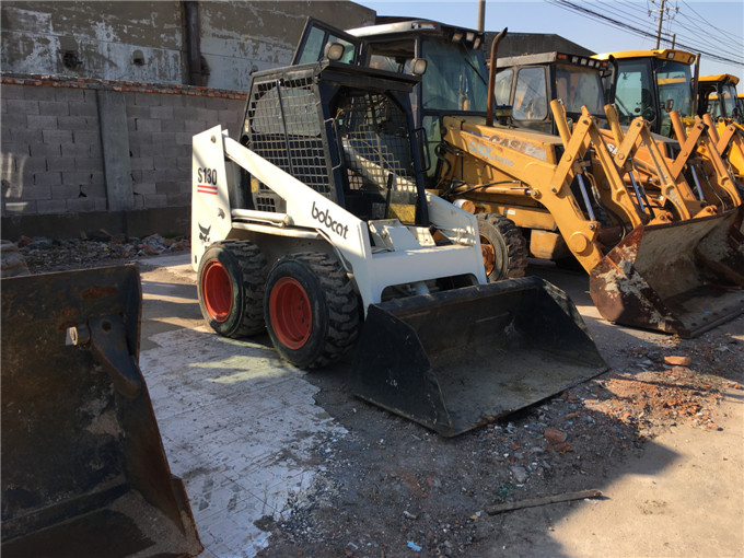 Bobcat S130,S150,S185 side shift loader / Used Skid steer loader / Used Bobcat Wheel Loader