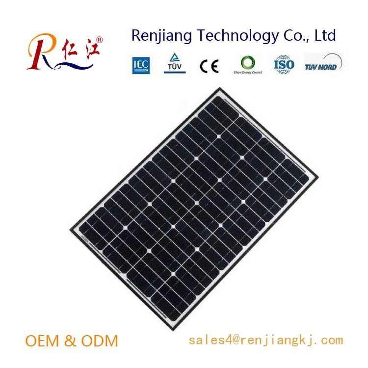New designed black solar panels 110w for China Manufacturers