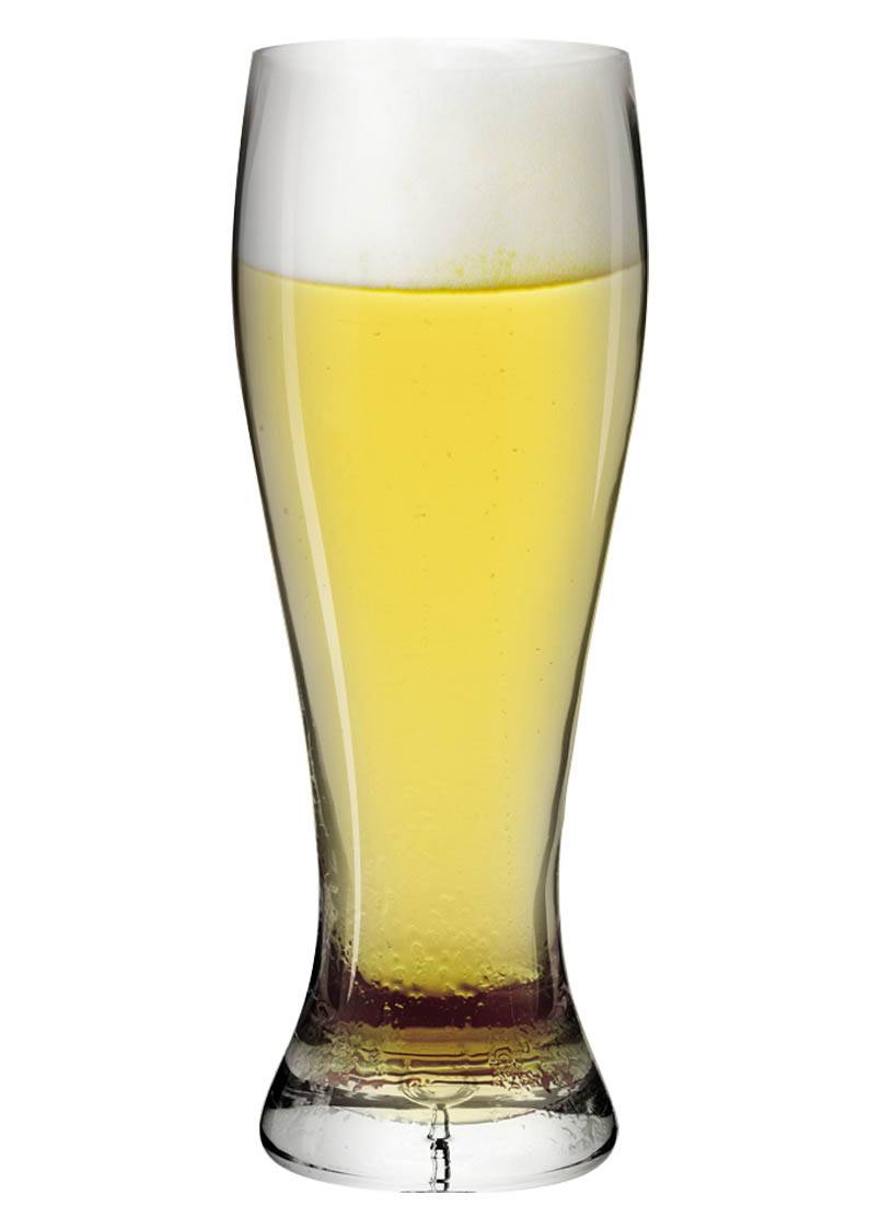 customised beer glass and wine glass