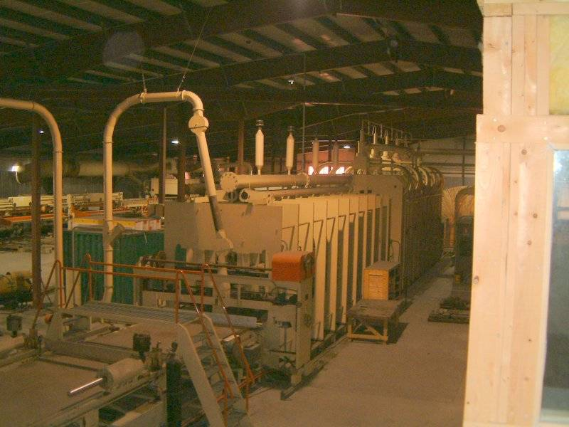 Particle Board Plant