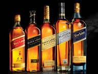JOHNNIE WALKER RED,BLACK,BLUE,GOLD,GREEN LABEL