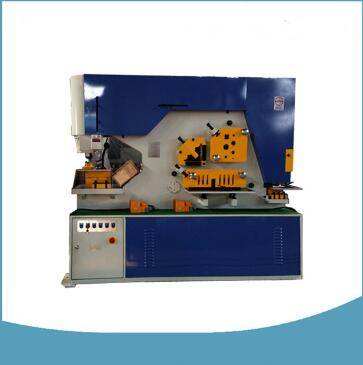 Combined punching and shearing machine
