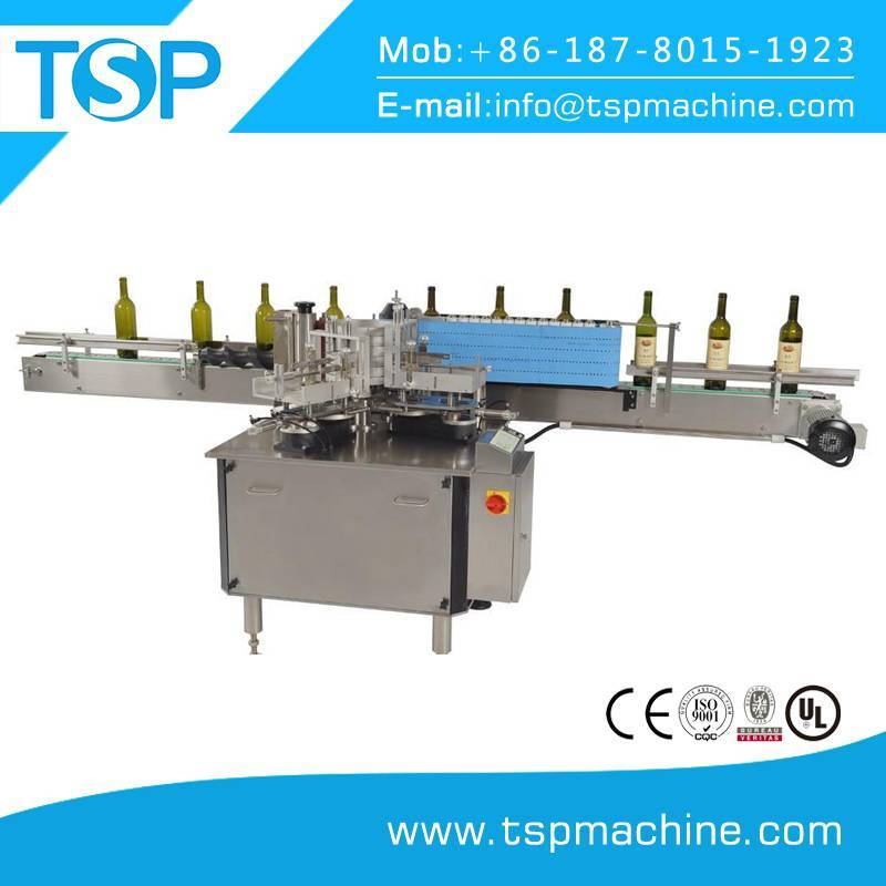 Environment protection paper label wet glue paste labeling machine for glass bottle