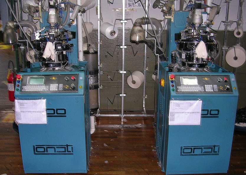 Lonati L454J knitting machines