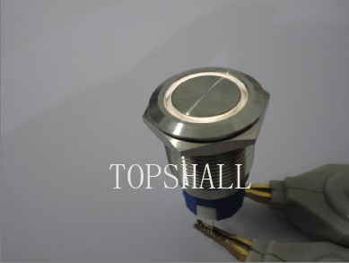 19mm illuminated metal switch/LED metal switch