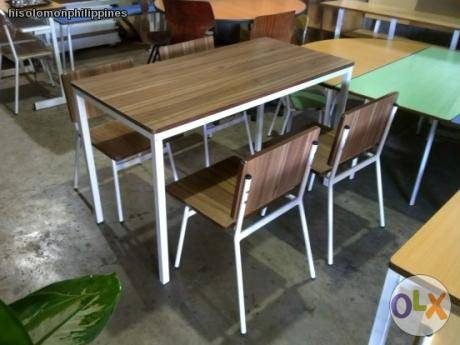 HISOLOMON RESTAURANT TABLE AND CHAIR