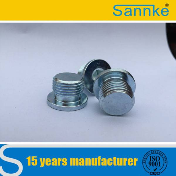 Hydraulic Brass NPT Threaded Plugs