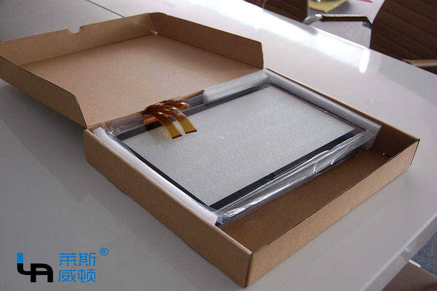 LASVD 18.5 inch projected capacitive touch screen panel