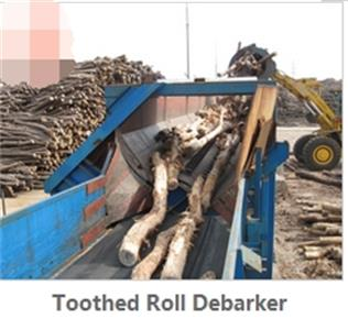 Toothed Roll Debarker