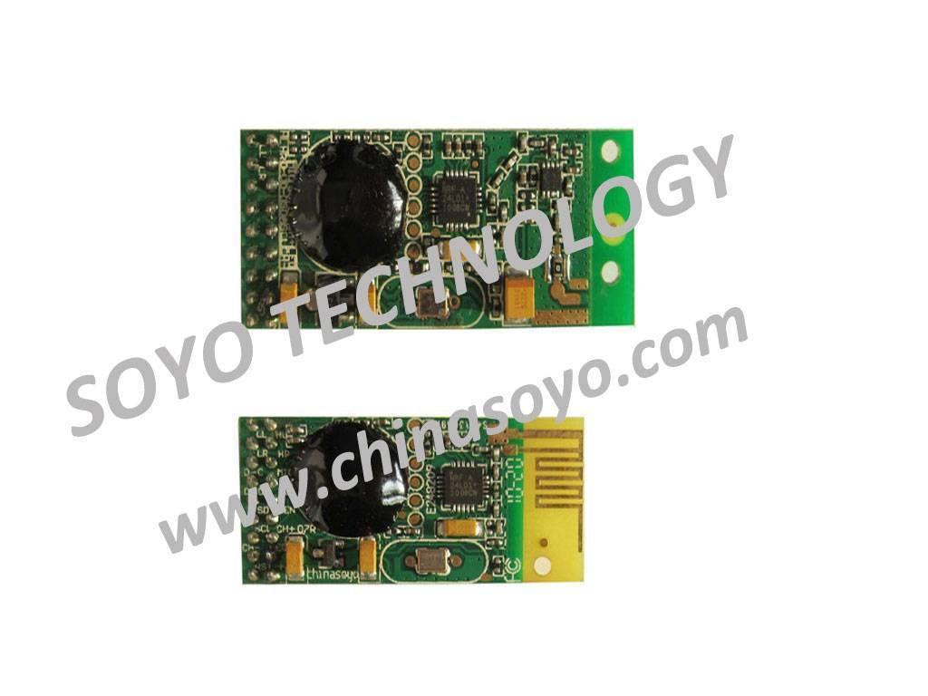 digital wireless transceiver module (transmitter and receiver)