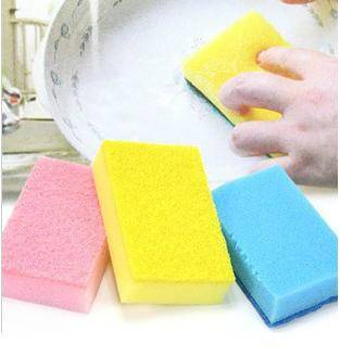 Household Colorful All Purpose Kitchen Non-Scratch Scrub Sponges