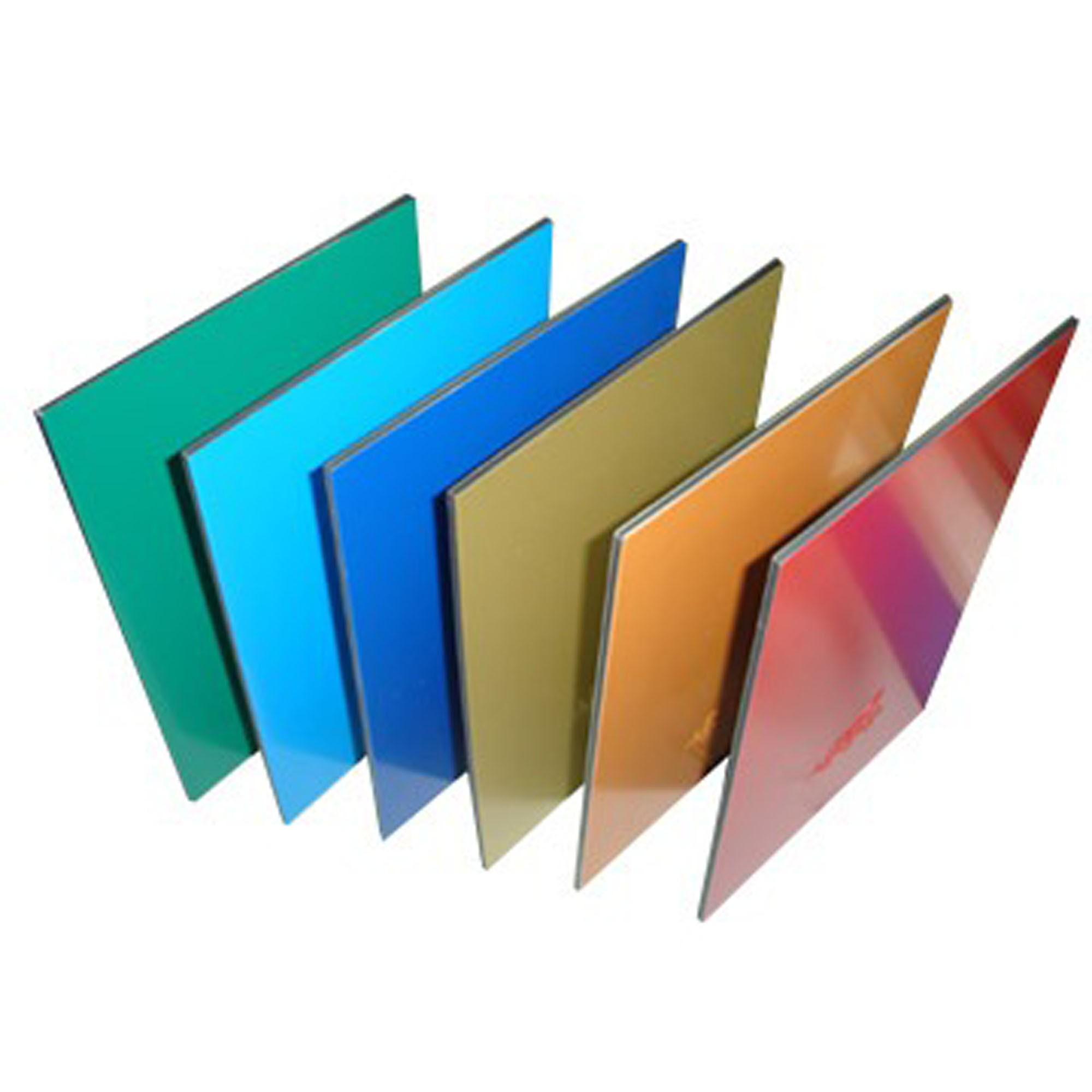 2mm 3mm (Thickness) 2440mm (L)1220mm (W) gloss matt white color digital printing ACP signage board