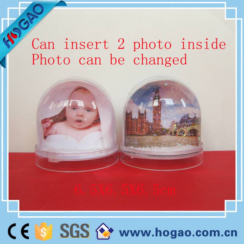 Resin photo snow globe for sale, photo globe for sale