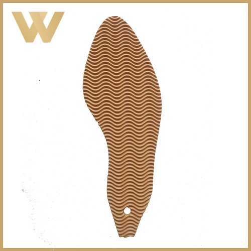 Newest Rubber Brown Wood Shoe Sole