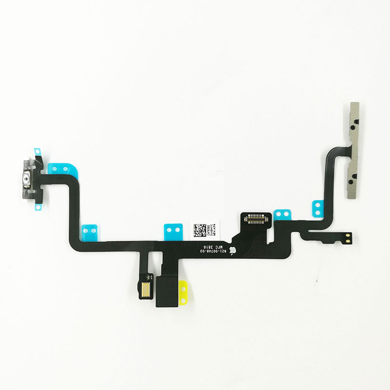 For Apple iPhone 7 Plus Power Button and Volume Button Flex Cable Ribbon Assembly Replacement