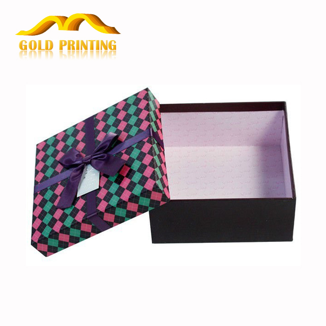 Custom high quality printing box logo paper box printing