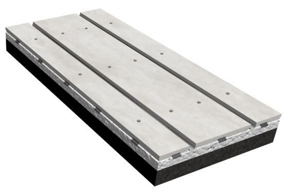 Heat Storage Type Dry Floor heating Panel