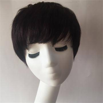 Human Hair lace part wigs with baby hair