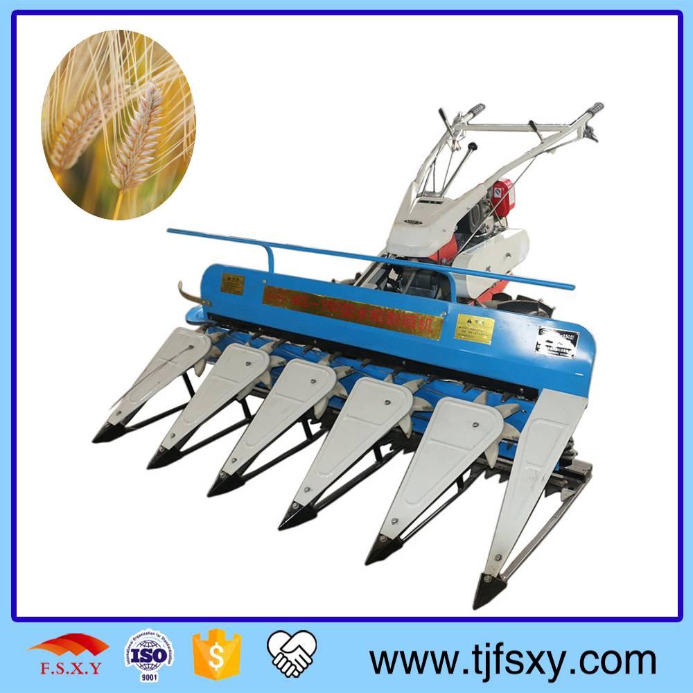 Electric Starting Mini Reaper And Harvester Cutting Grain