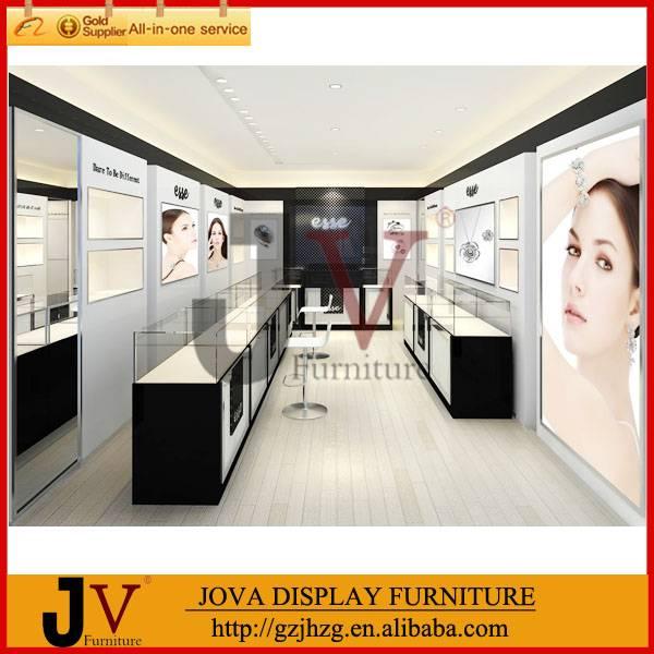 Jewelry shopping mall showcase kiosk design