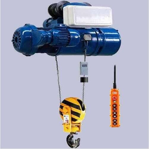 Electric hoist double speed