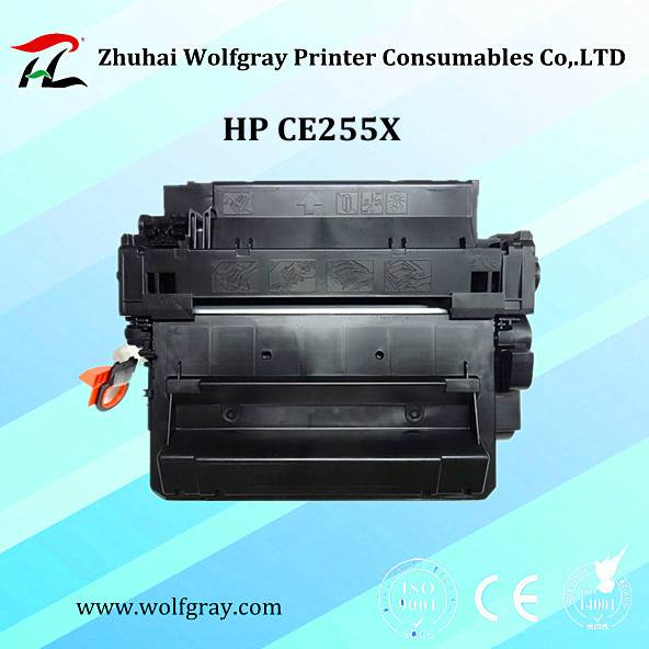 Compatible for HP CE255X toner cartridge