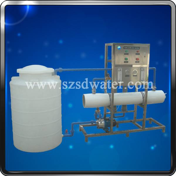 Stainless steelRO water treatment equipment RO-1000J(1000L/H)