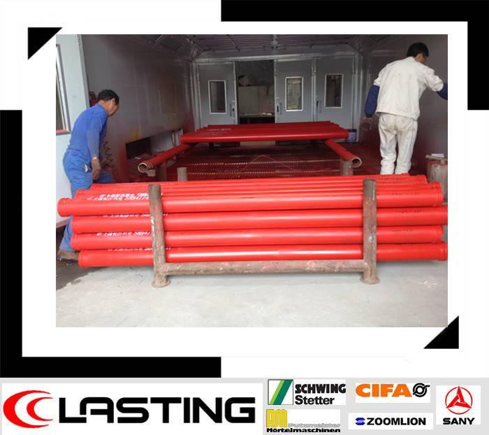 DN125*5.0*3000mm ST52 pipe concrete pump parts