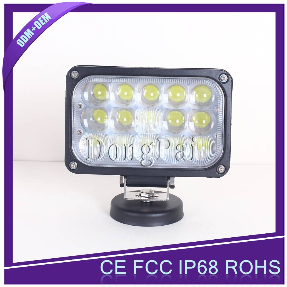 Rectangle 4D 45w led work light