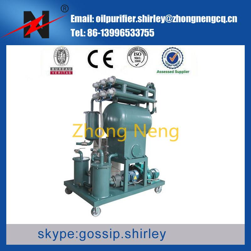 ZY-10 Light and Handy Single-Stage Vacuum Transformer Oil Recycling Oil Dewatering Equipment