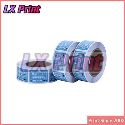 Custom-made Matt Silver Adhesive Sticker,Waterproof Adhesive Sticker,product label