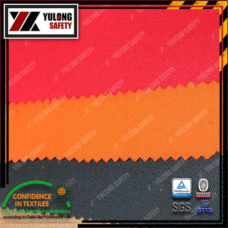 Xinxiang Yulong Textile co.,Ltd Arc flash fabric Arc flash workwear