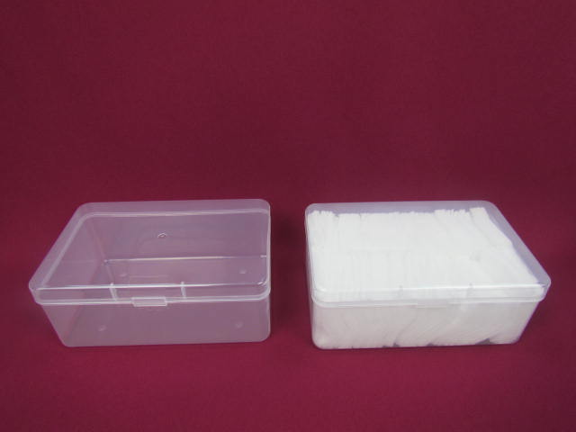 Hot sell Promotional small plastic Cotton Swab Storage Box