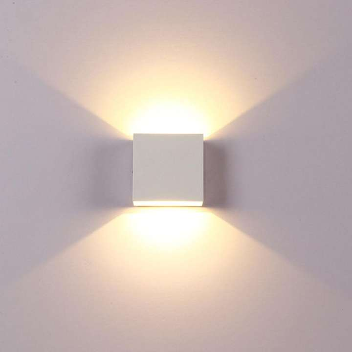 Modern 6W LED Wall Light Up Down Lamp Sconce Spot Lighting Home Bedroom Fixture
