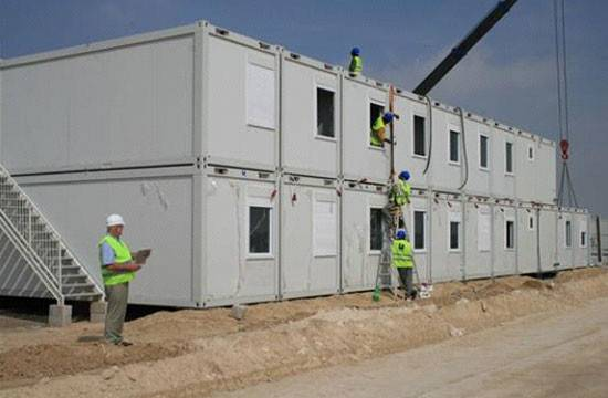 Folding Container House Dormitory Construction