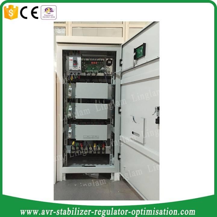 200kva 3phase thyristor type voltage regulator/stabilizer