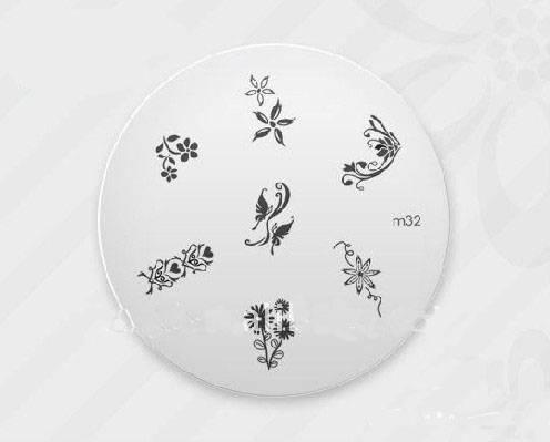 fashion nail art stamping plate