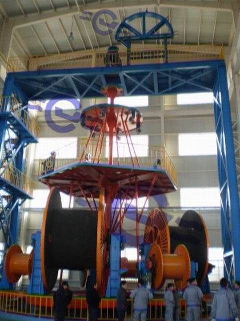 JCL Vertical Type Laying-up Machine For Submarine Cable